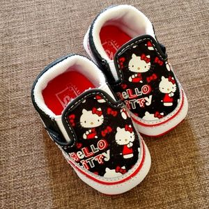 Baby Vans shoes Hello Kitty